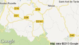 Plan de Sainte-Feyre-la-Montagne