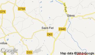 Plan de Saint-Fiel