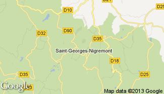 Plan de Saint-Georges-Nigremont