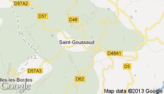 Plan de Saint-Goussaud