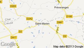 Plan de Saint-Marien