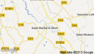 Plan de Saint-Martial-le-Mont