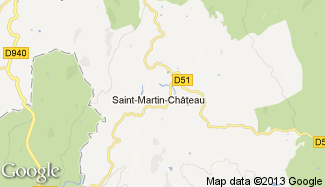 Plan de Saint-Martin-Château