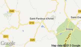 Plan de Saint-Maurice-près-Crocq