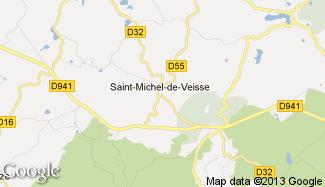 Plan de Saint-Michel-de-Veisse