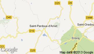 Plan de Saint-Pardoux-d'Arnet