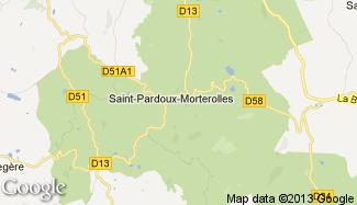 Plan de Saint-Pardoux-Morterolles
