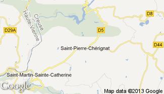 Plan de Saint-Pierre-Chérignat