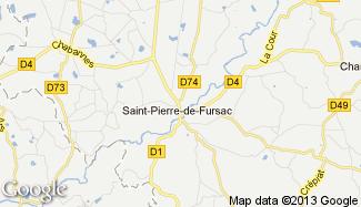 Plan de Saint-Pierre-de-Fursac