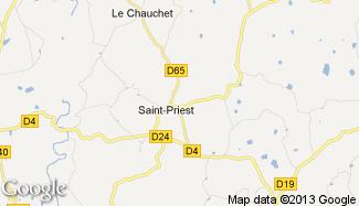 Plan de Saint-Priest