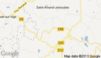 Plan de Saint-Priest-Palus