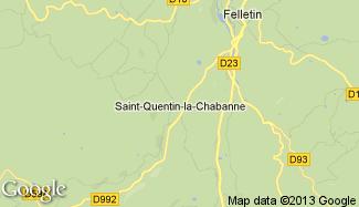 Plan de Saint-Quentin-la-Chabanne