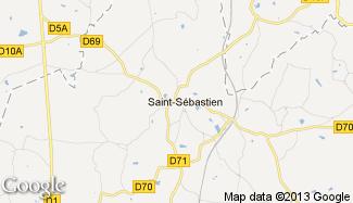 Plan de Saint-Sébastien