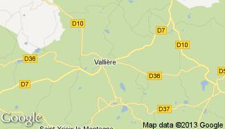 Plan de Vallière