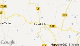 Plan de La Villetelle