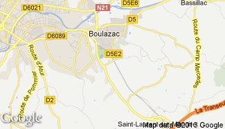 Plan de Boulazac