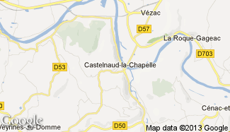 Plan de Castelnaud-la-Chapelle