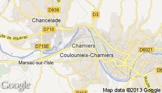 Plan de Coulounieix-Chamiers