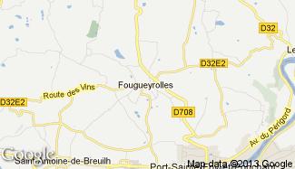Plan de Fougueyrolles
