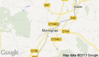 Plan de Montignac