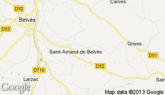 Plan de Saint-Amand-de-Belvès