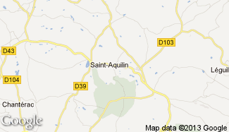 Plan de Saint-Aquilin