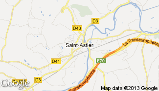 Plan de Saint-Astier