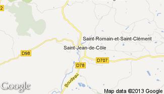 Plan de Saint-Jean-de-Côle