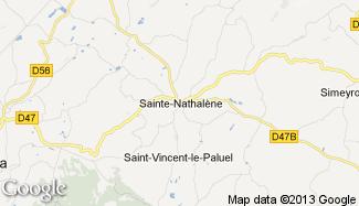 Plan de Sainte-Nathalène
