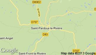 Plan de Saint-Pardoux-la-Rivière