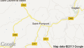 Plan de Saint-Pompont