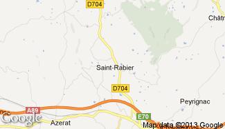 Plan de Saint-Rabier