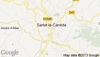 Plan de Sarlat-la-Canéda