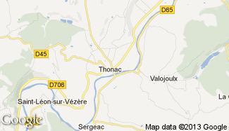 Plan de Thonac