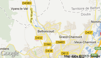 Plan de Bethoncourt