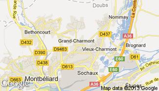 Plan de Grand-Charmont