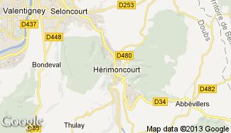 Plan de Hérimoncourt