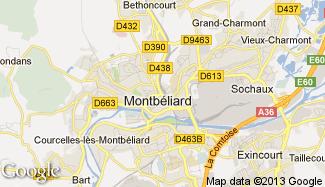Plan de Montbéliard