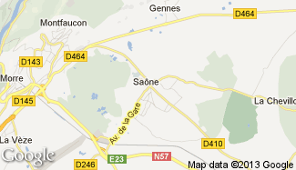 Plan de Saône