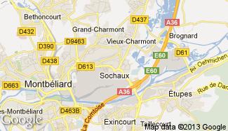 Plan de Sochaux