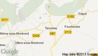 Plan de Tarcenay
