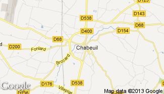 Plan de Chabeuil