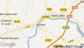 Plan de Eymeux