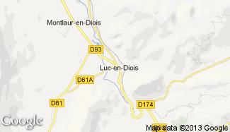 Plan de Luc-en-Diois
