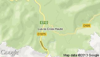 Plan de Lus-la-Croix-Haute
