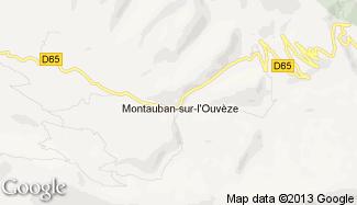 Plan de Montauban-sur-l'Ouvèze