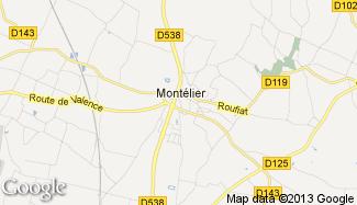 Plan de Montélier