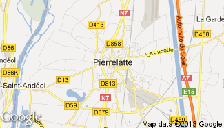 Plan de Pierrelatte