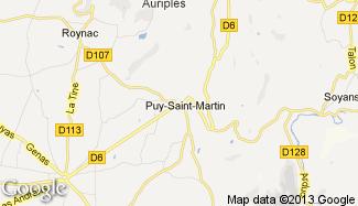 Plan de Puy-Saint-Martin