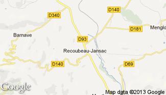 Plan de Recoubeau-Jansac